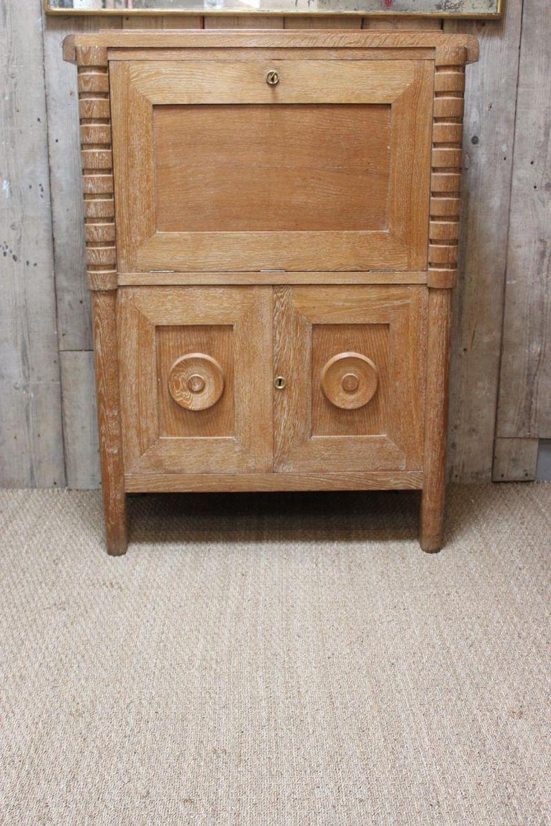 ausklappbarer franz sischer schreibtisch 1940er bei pamono kaufen. Black Bedroom Furniture Sets. Home Design Ideas
