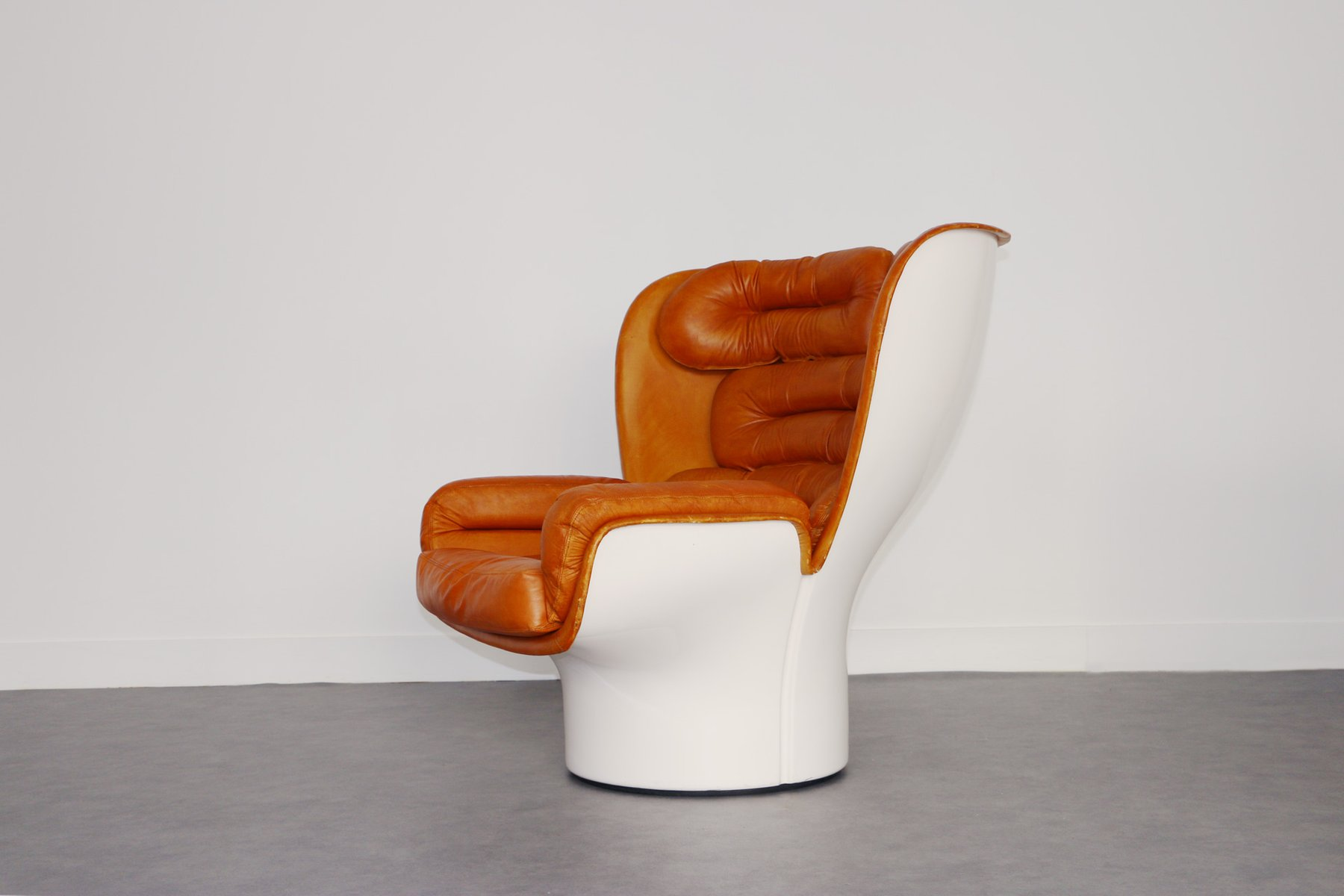 First Edition Elda Lounge Chair by Joe Colombo for fort 1960s
