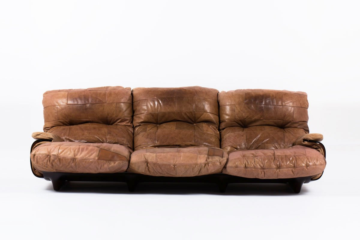 marsala sofa by michel ducaroy for ligne roset 1970s for sale at pamono. Black Bedroom Furniture Sets. Home Design Ideas