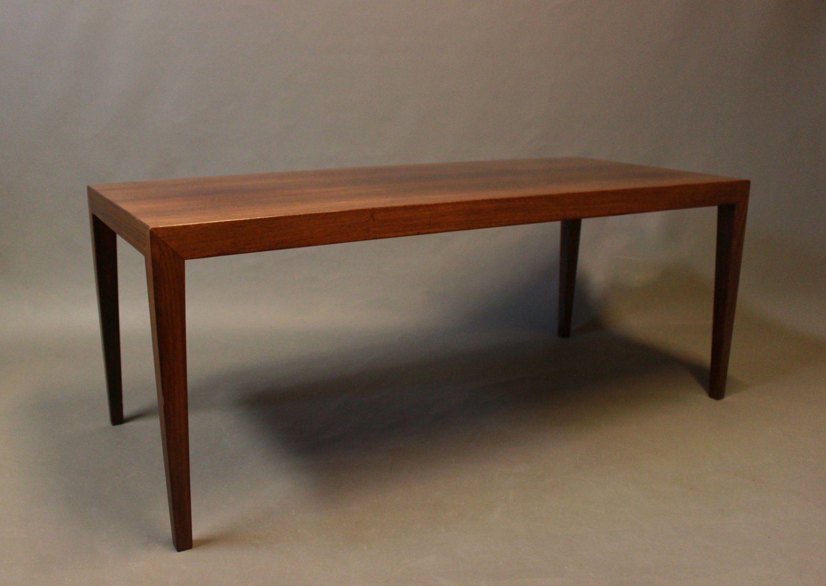 Danish Coffee Table In Rosewood By Haslev M Belsnedkeri 1960s For Sale At Pamono