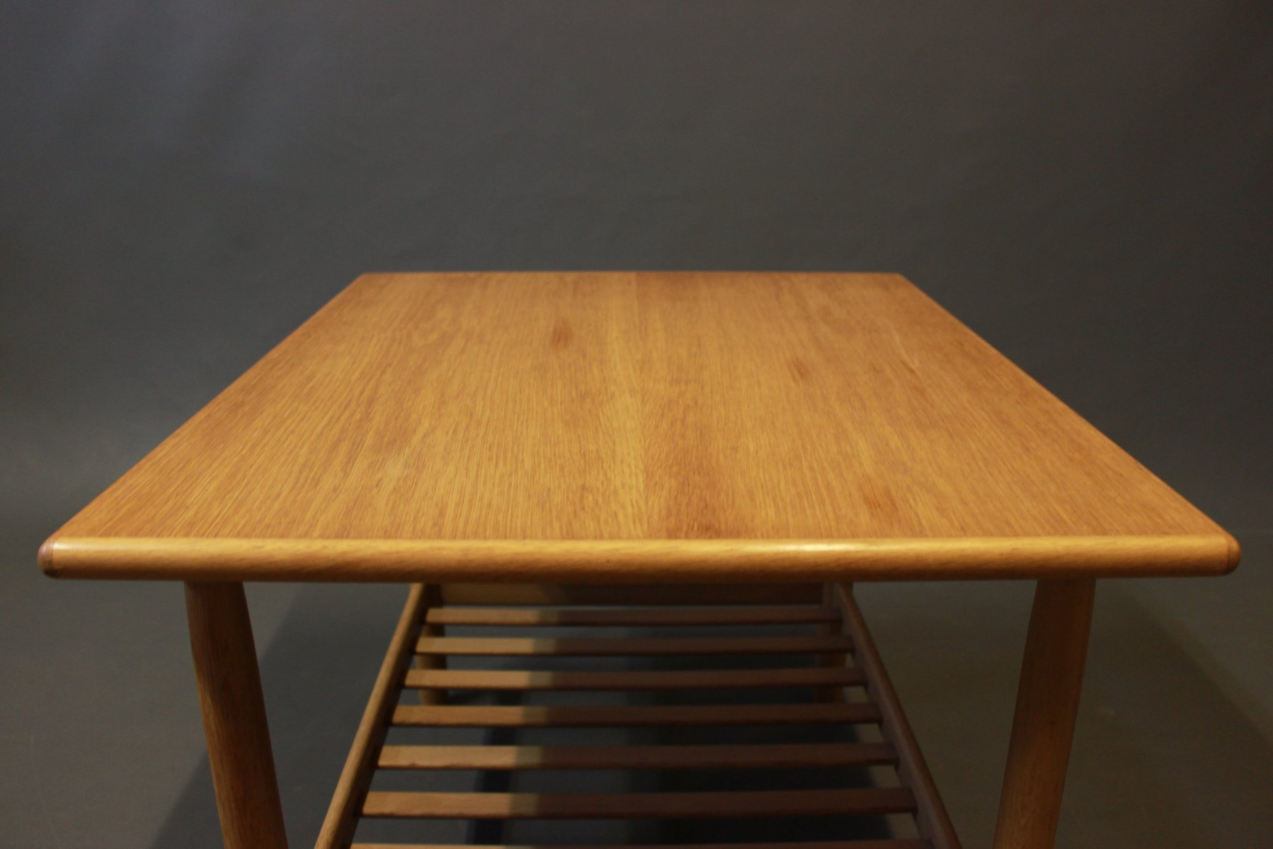 Coffee Table In Oak From Vitz 1960s For Sale At Pamono