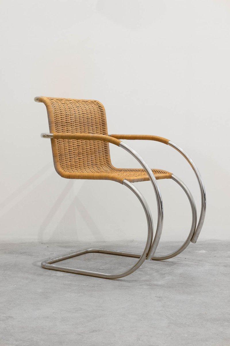 Vintage freischwinger bei pamono kaufen - Repeindre un fauteuil en osier ...