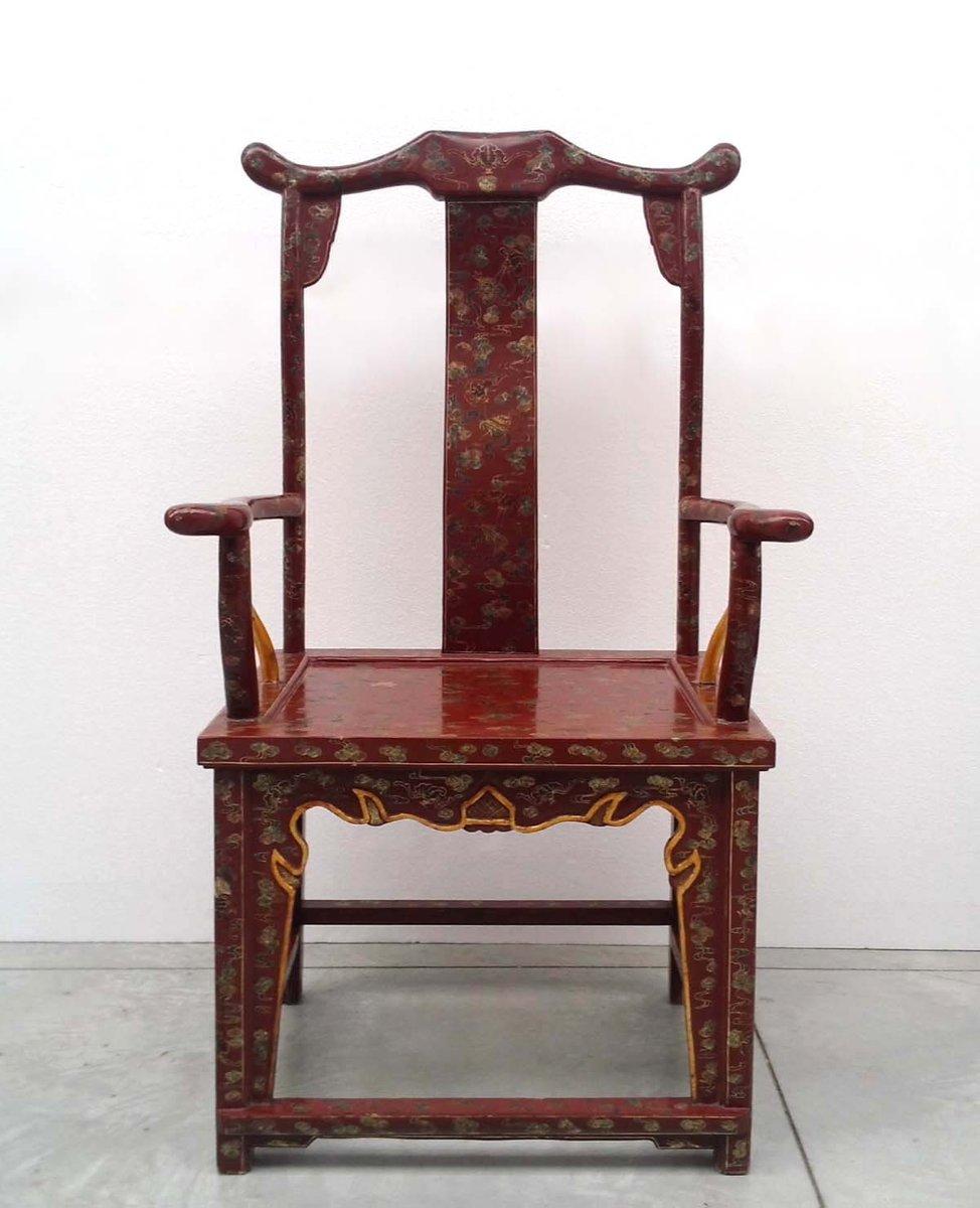 chinesische vintage armlehnst hle 4er set bei pamono kaufen. Black Bedroom Furniture Sets. Home Design Ideas