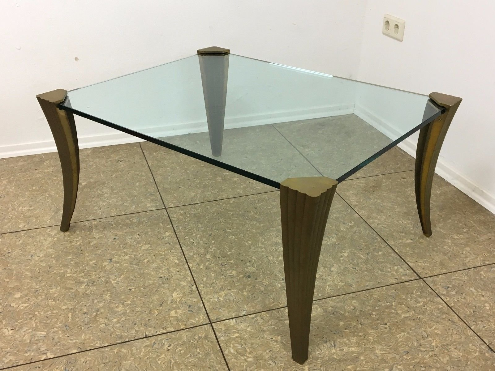 Brutalist bronze coffee table 1970s for sale at pamono geotapseo Image collections