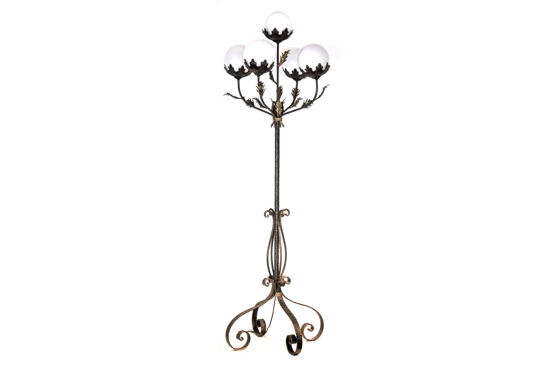 Floral Floor Lamp For Sale At Pamono