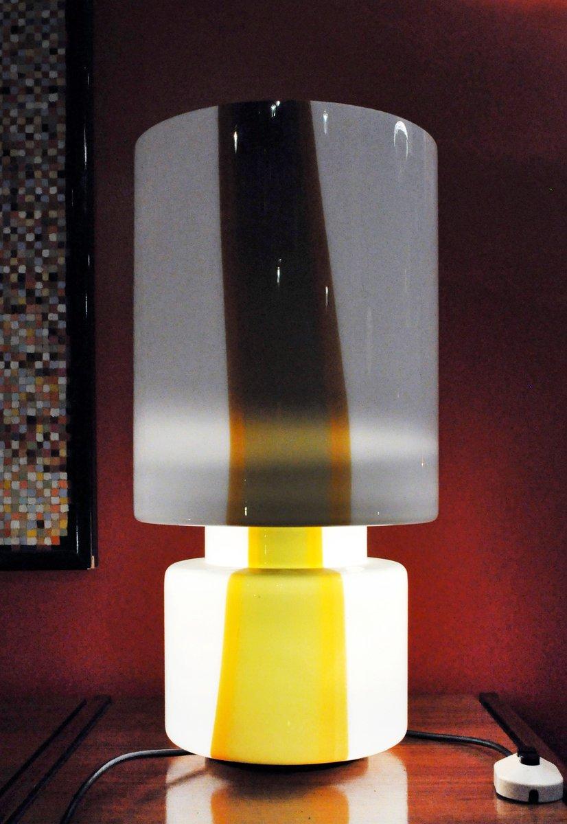 murano glas tischlampe 1970er bei pamono kaufen. Black Bedroom Furniture Sets. Home Design Ideas