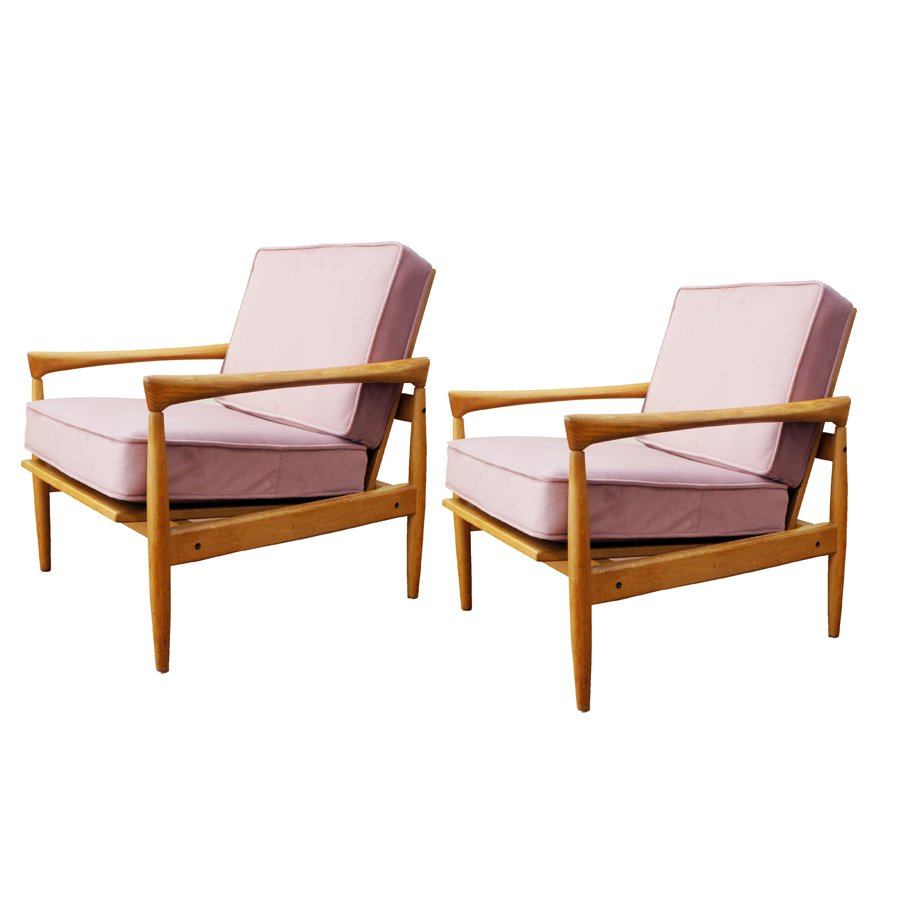 Mid Century Armchairs By Erik Wörtz For Ikea, Set Of 2