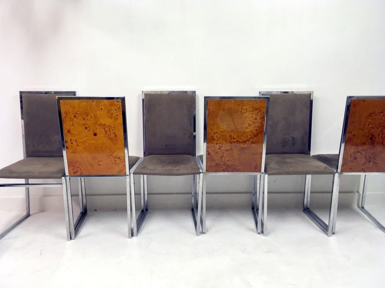 Table de salle manger et chaises en broussin de la metal for Table de la salle a manger