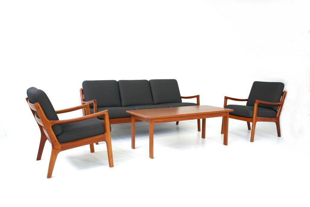 senator sofa von ole wanscher f r cado 1951 bei pamono kaufen. Black Bedroom Furniture Sets. Home Design Ideas