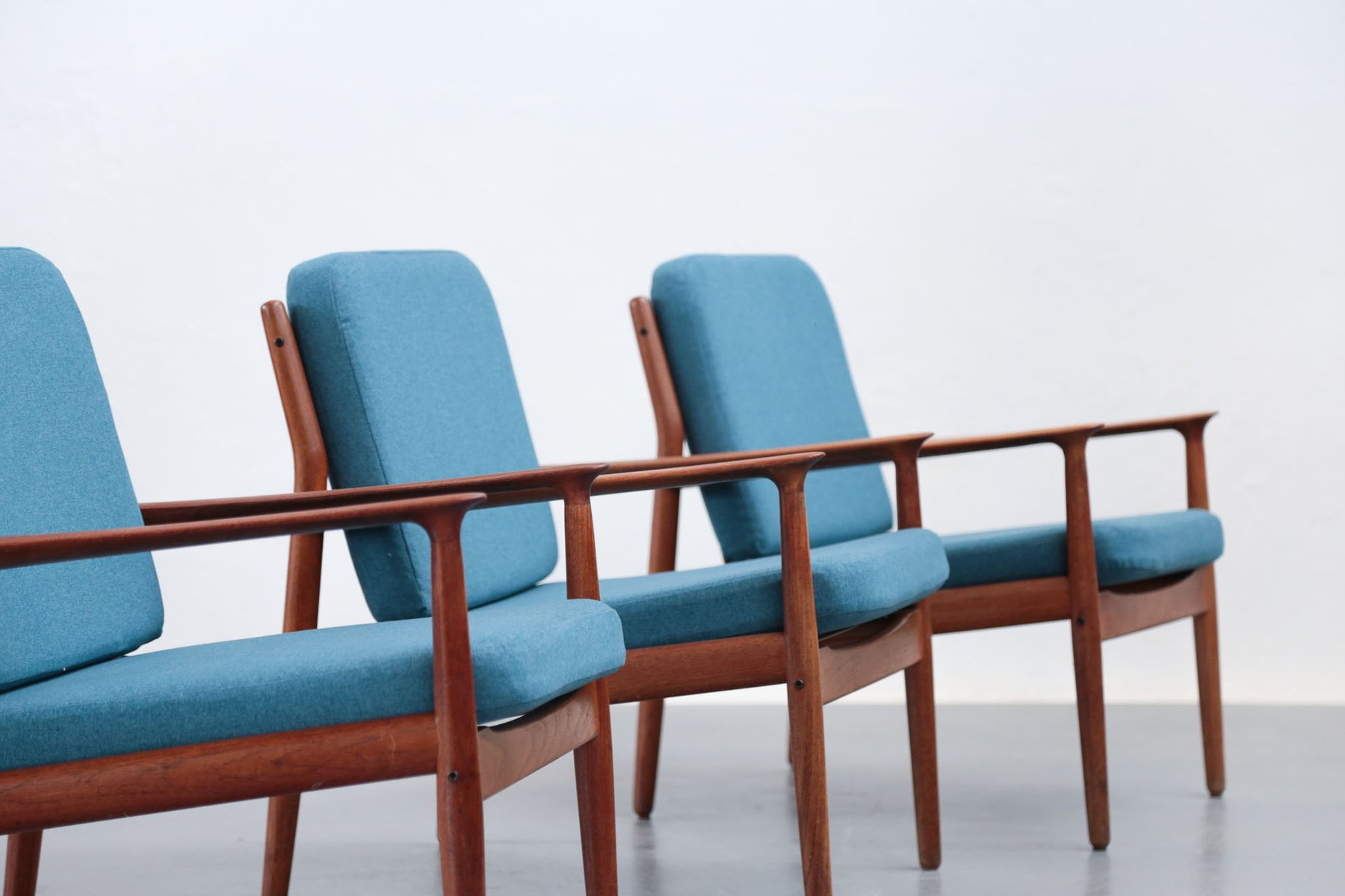 Danish Armchair by Grete Jalk for Glostrup 1960s for sale at Pamono