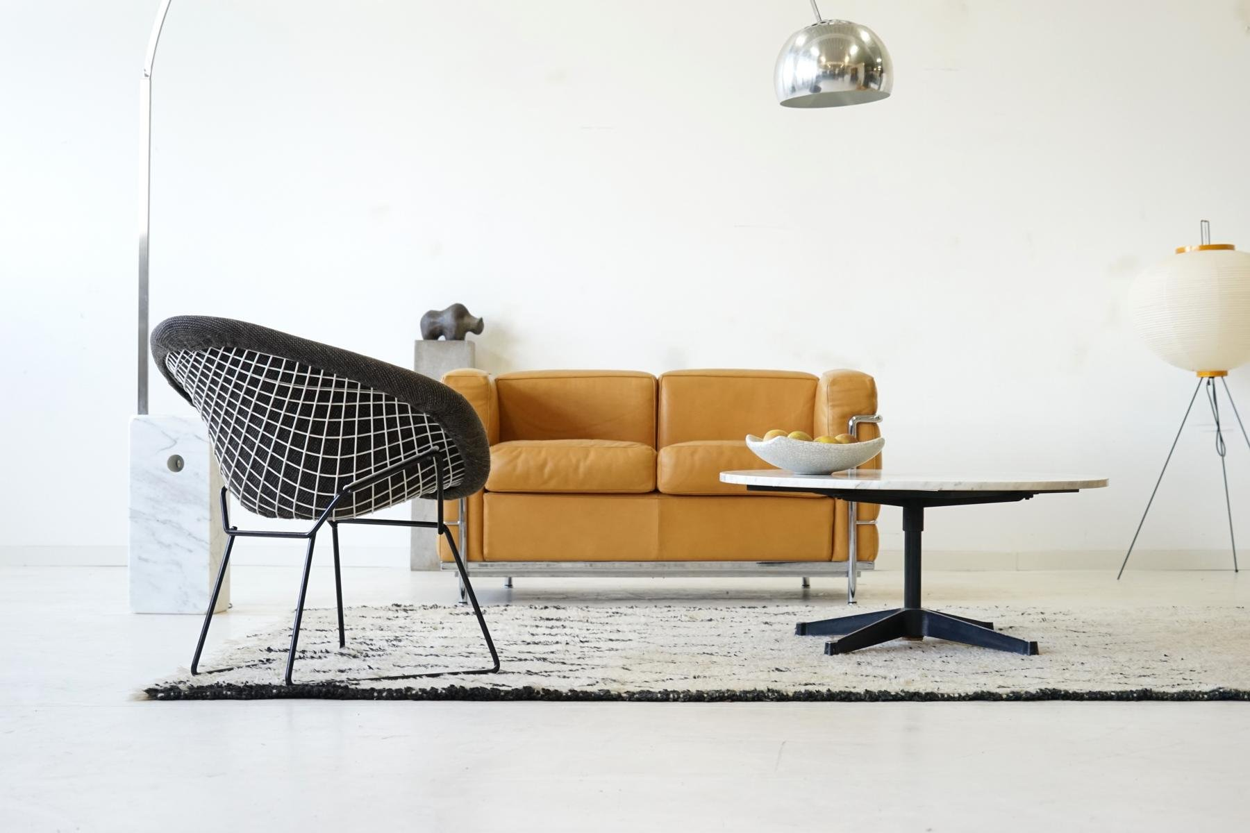 mid century diamond wire side lounge chair by harry bertoia for knoll international for sale at. Black Bedroom Furniture Sets. Home Design Ideas