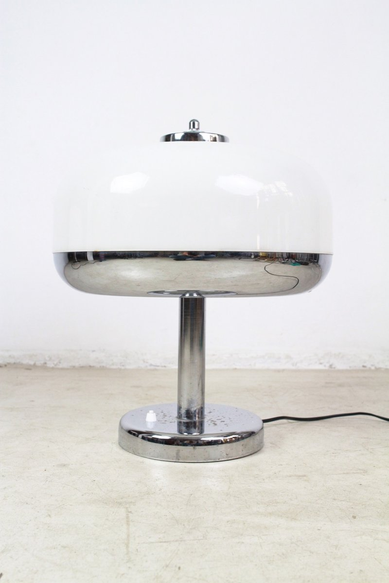 Chrome Table Lamp, 1960s for sale at Pamono