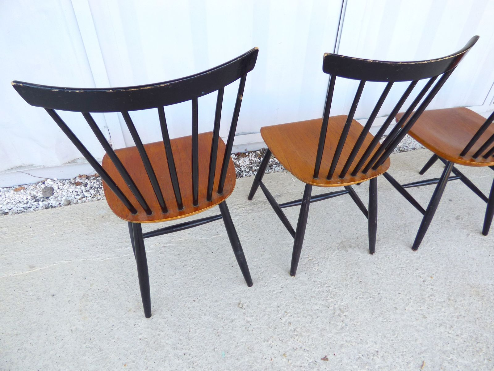 mid century chairs by ilmari tapiovaara set of 4 for sale at pamono. Black Bedroom Furniture Sets. Home Design Ideas