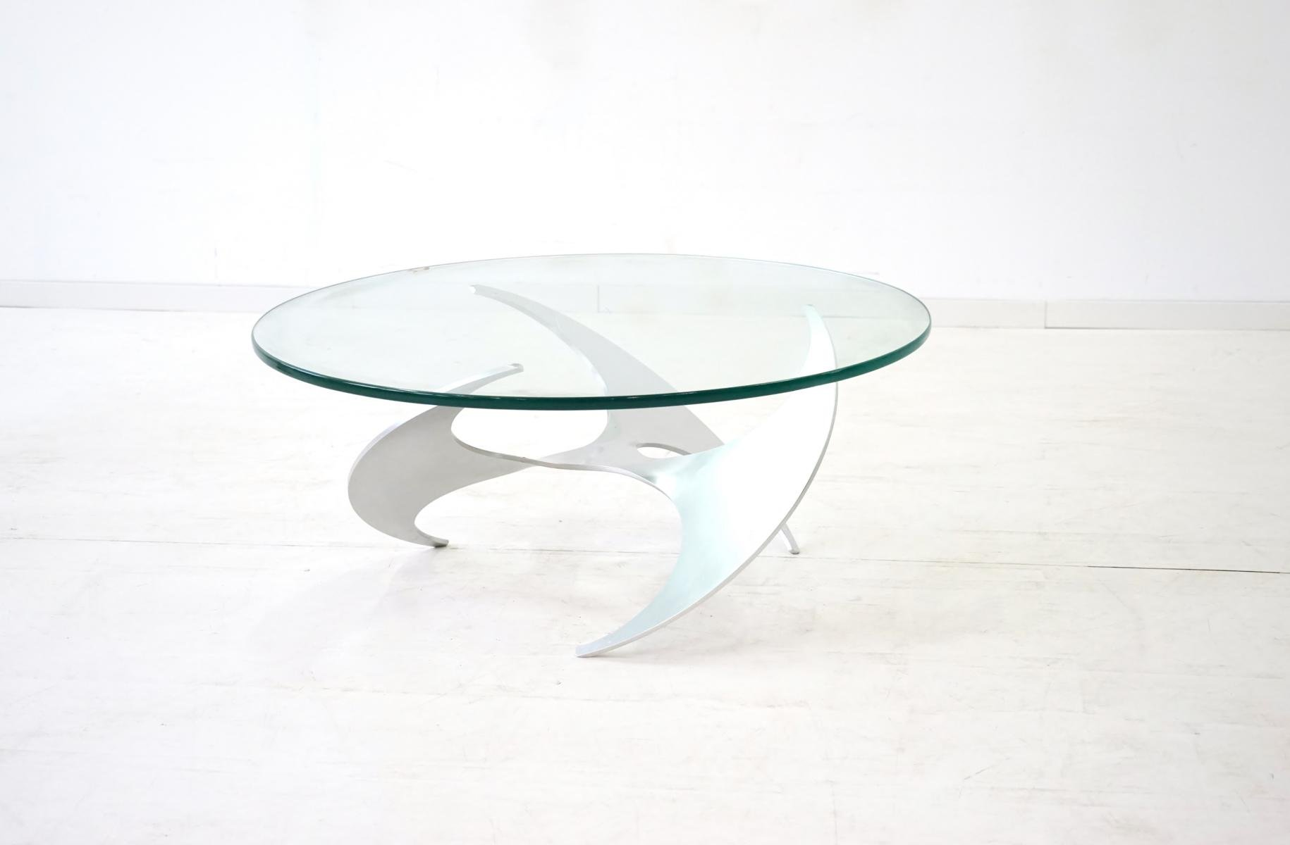 mid century k9 propeller coffee table by knut hesterberg for
