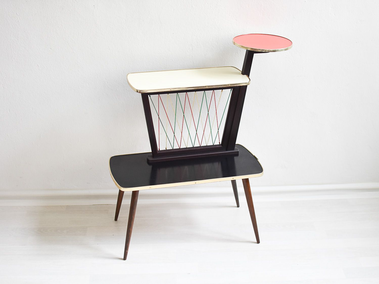 Mid century plant stand from opal mobel for sale at pamono - Mid century mobel ...