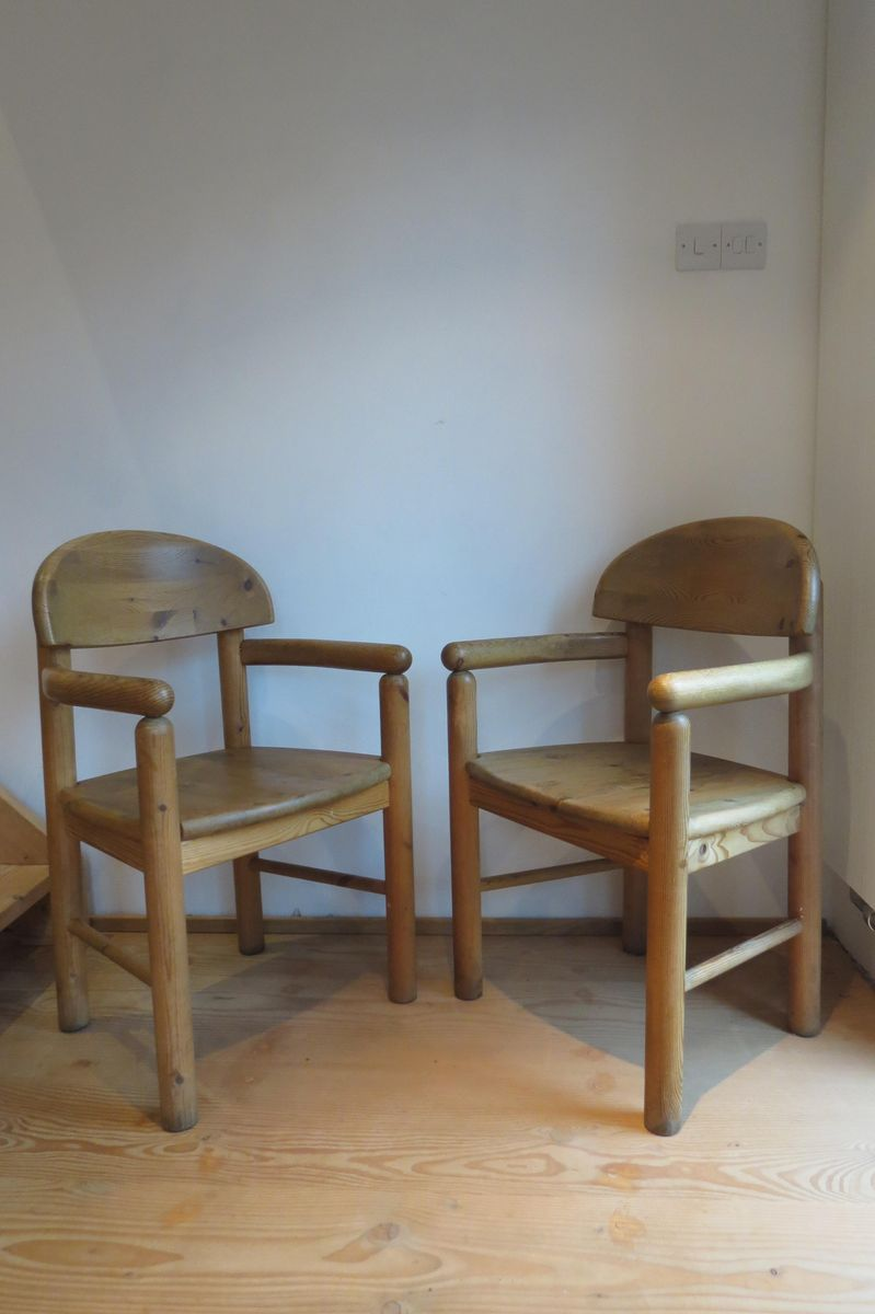 Carver Dining Chairs By Rainer Daumiller For Hirtshals Sawmil - Carver dining chairs