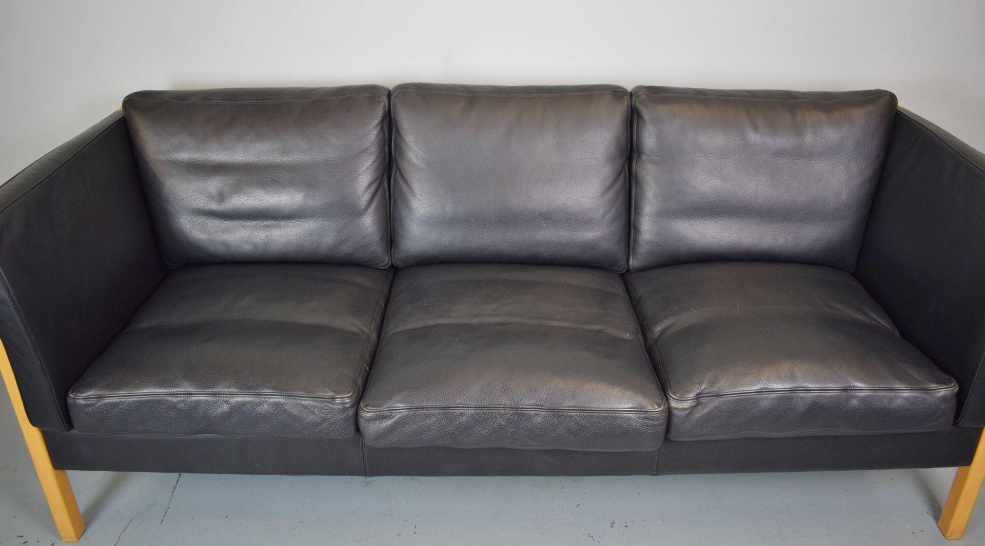 3 sitzer sofa von stouby 1970er bei pamono kaufen. Black Bedroom Furniture Sets. Home Design Ideas