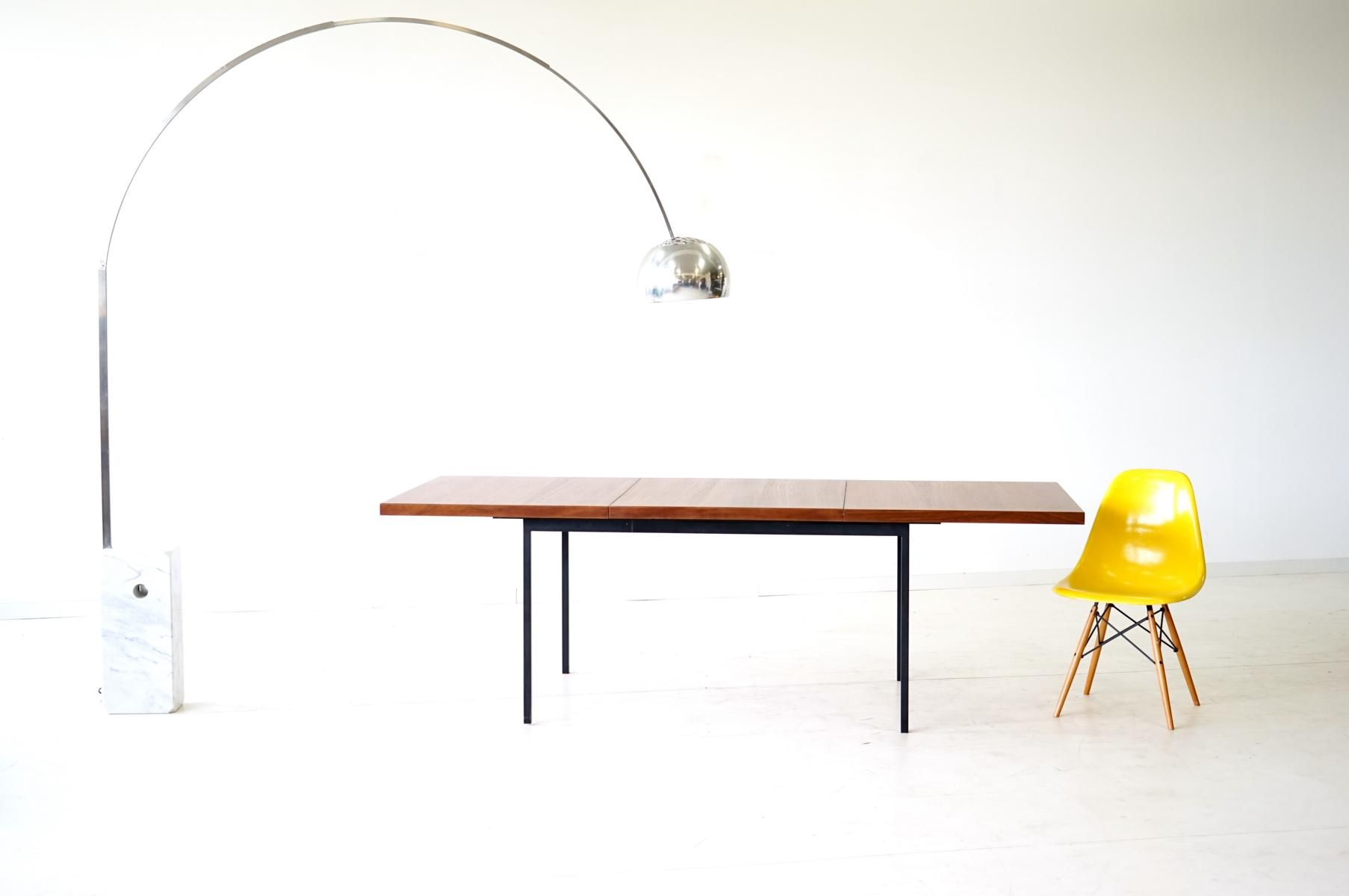 Vintage Model 413 Extending Dining Table by Fred Ruf for Knoll