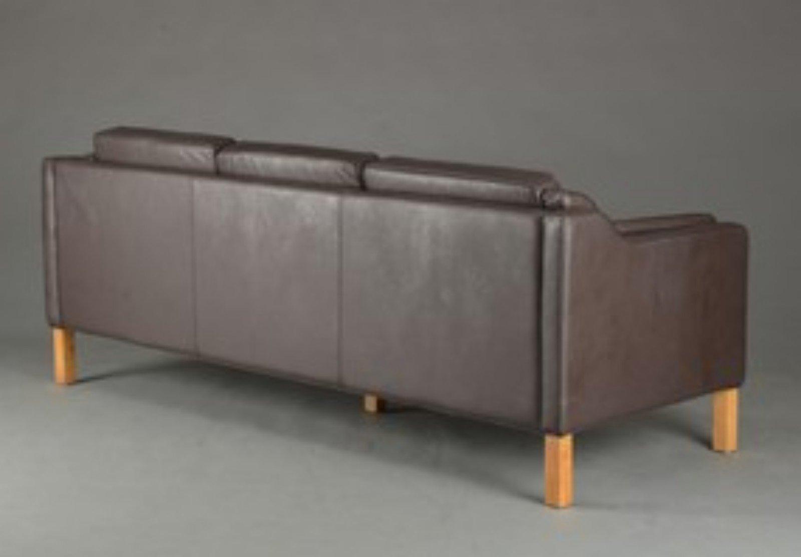 3 sitzer ledersofa 1990er bei pamono kaufen. Black Bedroom Furniture Sets. Home Design Ideas