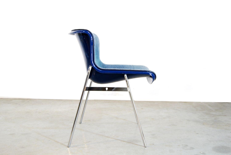 Sedia da pranzo di artifort paesi bassi anni 39 70 in for Sedia design anni 70