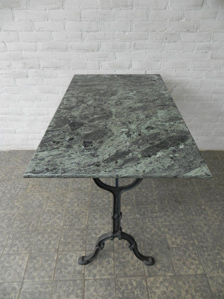 Runder Gartentisch Redville Mit Marmorplatte Weiss La Gartentisch