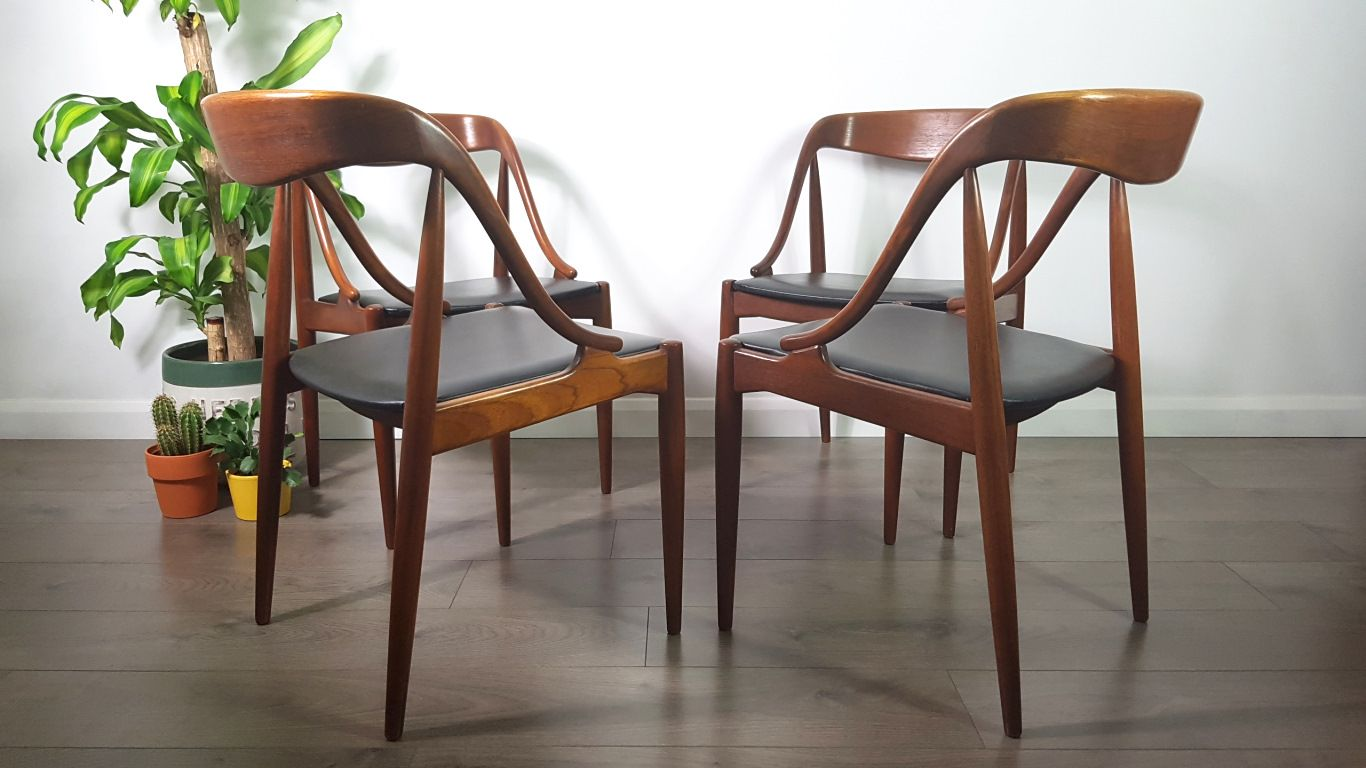 Mid Century Chairs By Johannes Andersen For Uldum
