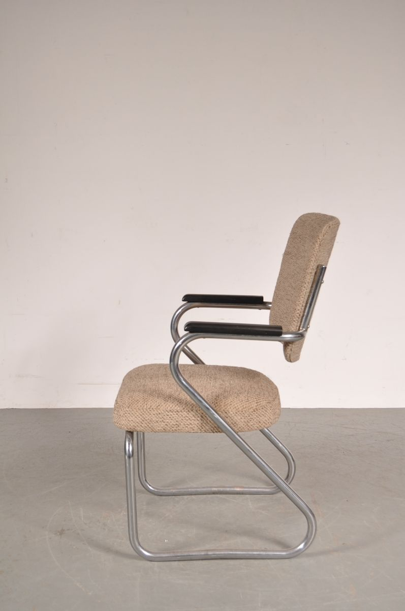 Semi Floating Desk Chair By Paul Schuitema For Fana