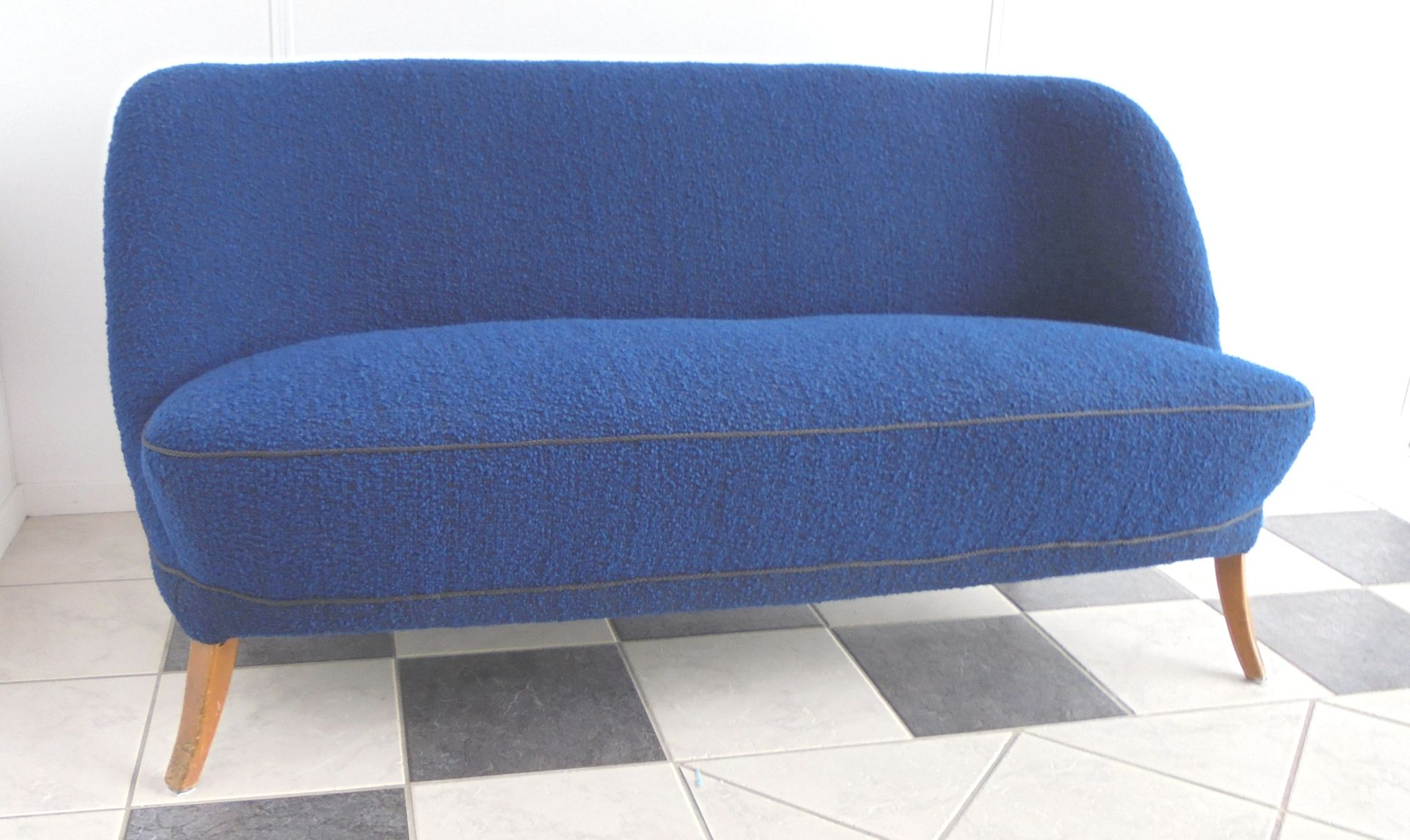 3 Seater Cocktail Sofa 1950s for sale at Pamono
