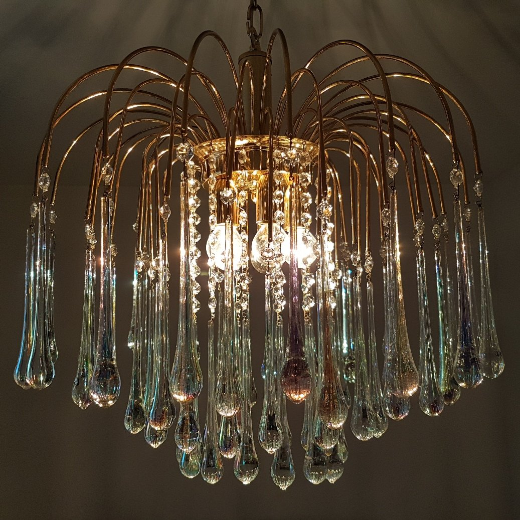 gold plated chandelier : Chandelier Gallery