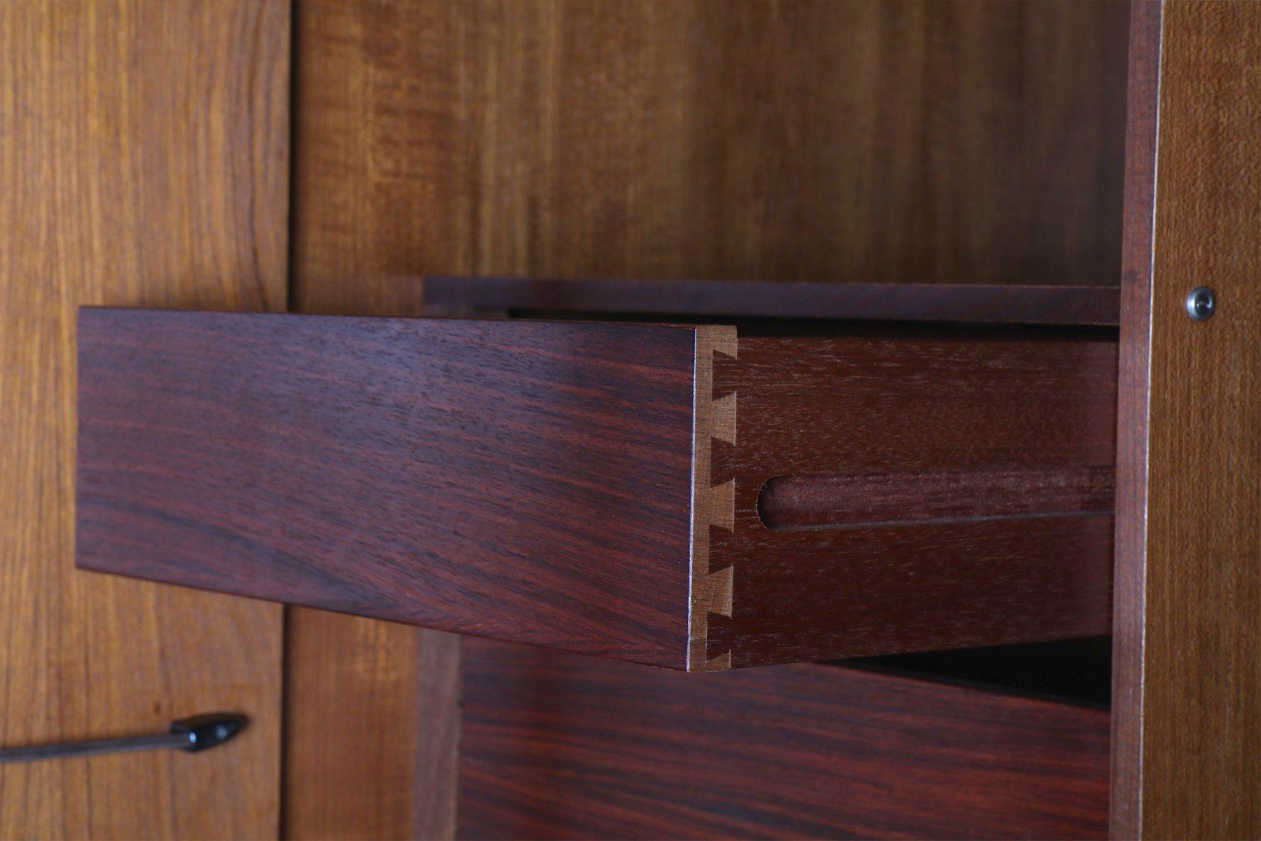 d nischer teak kleiderschrank von ib kofod larsen f r g plan 1960er bei pamono kaufen. Black Bedroom Furniture Sets. Home Design Ideas