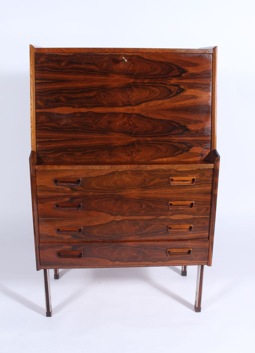 mid century bar or bureau for sale at pamono. Black Bedroom Furniture Sets. Home Design Ideas