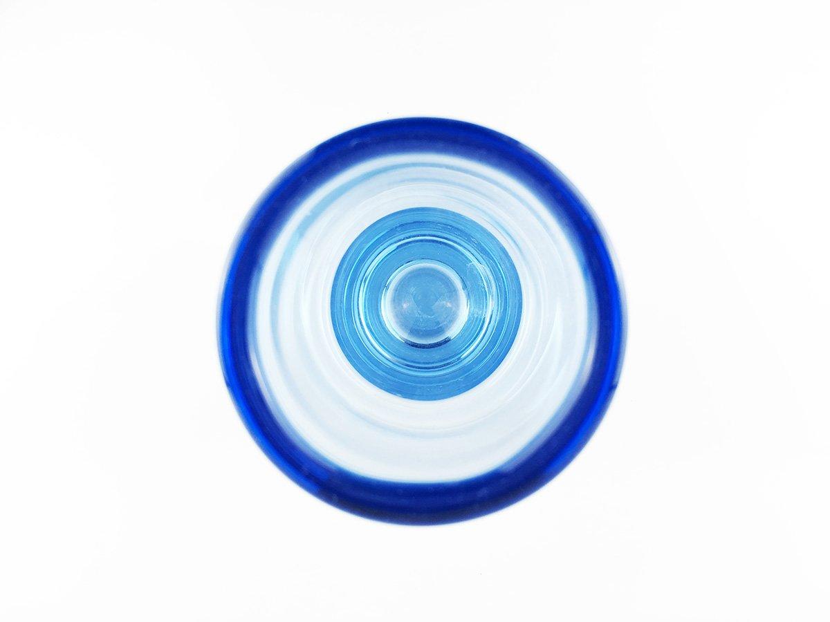 Moderne zylinderf rmige blaue d nische vintage glasvasen - Moderne glasvasen ...