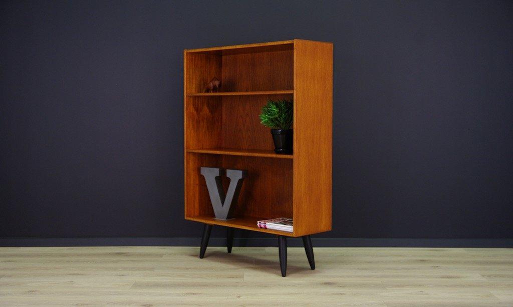 d nisches vintage teak furnier regalsystem bei pamono kaufen. Black Bedroom Furniture Sets. Home Design Ideas