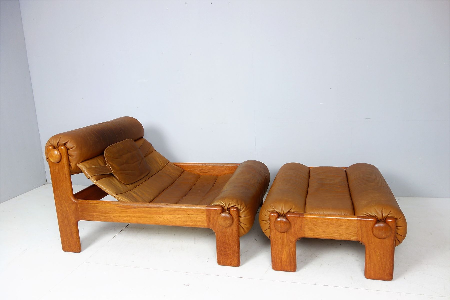 chair and ottoman. vintage swedish lounge chair \u0026 ottoman, 1960s and ottoman i