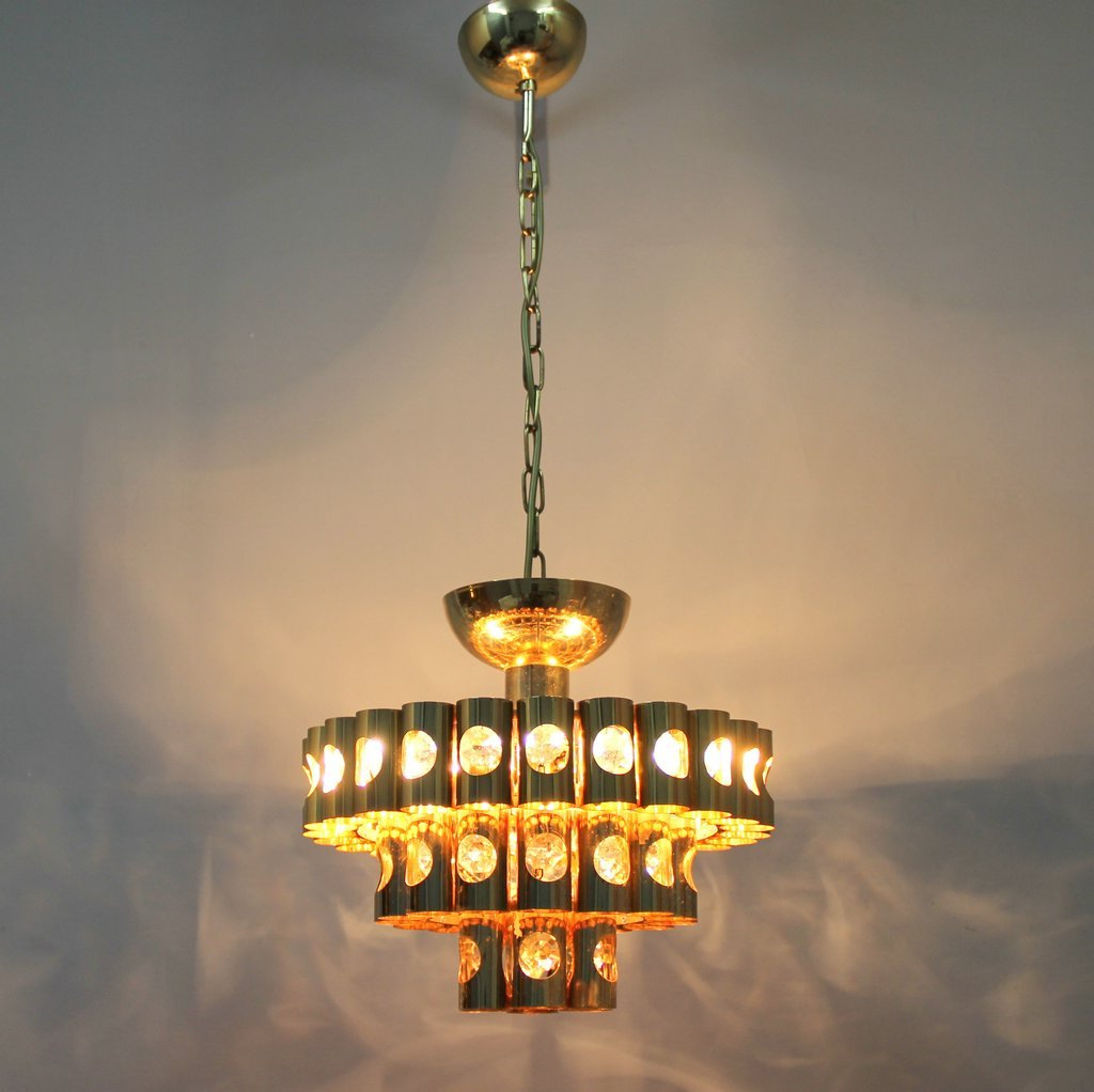 Spanish chandelier 1960s for sale at pamono spanish chandelier 1960s 3 previous mozeypictures Choice Image