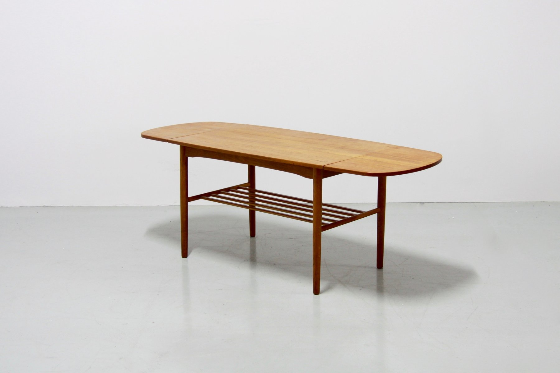 Vintage Danish Extendable Coffee Table 1960s For Sale At