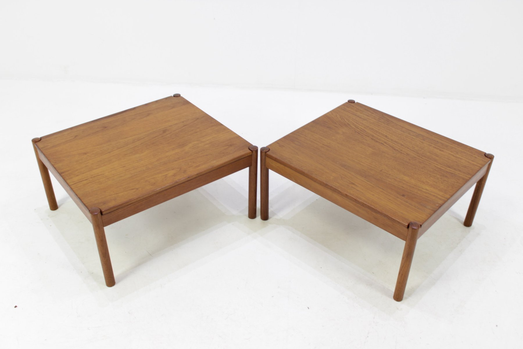 Solid teak coffee tables by magnus olesen for durum 1960s set of price per set geotapseo Gallery