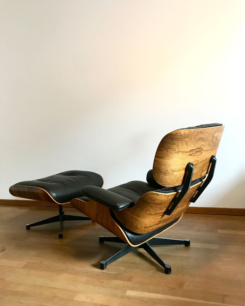On Hold & Rio Rosewood Lounge Chair u0026 Ottoman by Charles u0026 Ray Eames for ... islam-shia.org