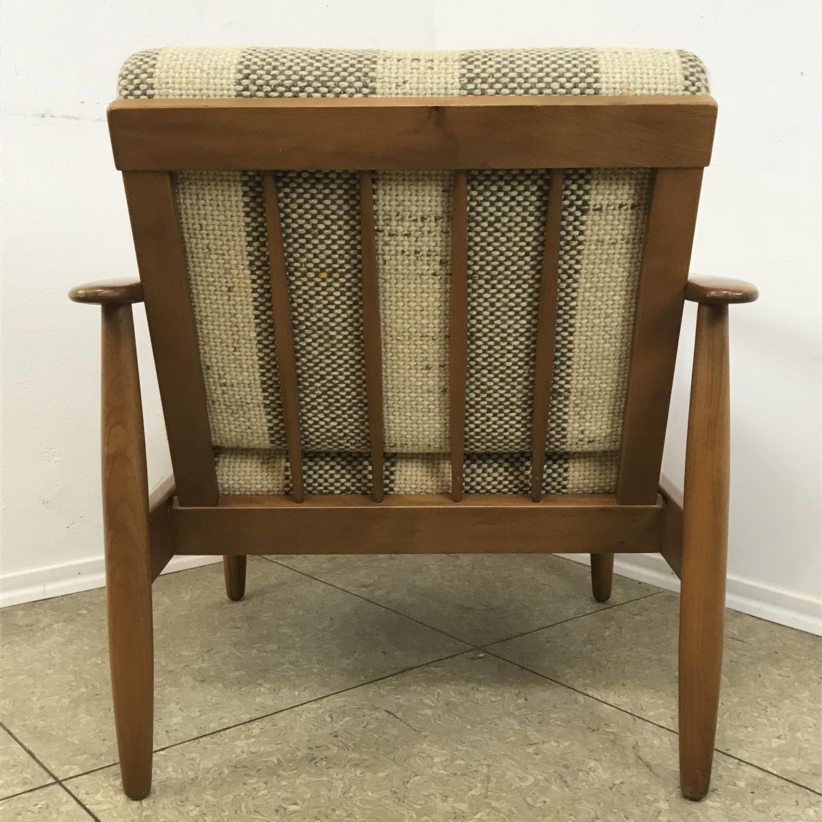 Price per piece - Cherry Wood Easy Chair, 1960s For Sale At Pamono