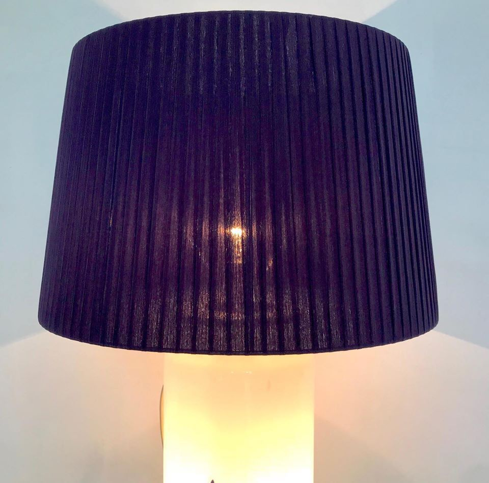 vintage murano glass lamp 1970s for sale at pamono. Black Bedroom Furniture Sets. Home Design Ideas