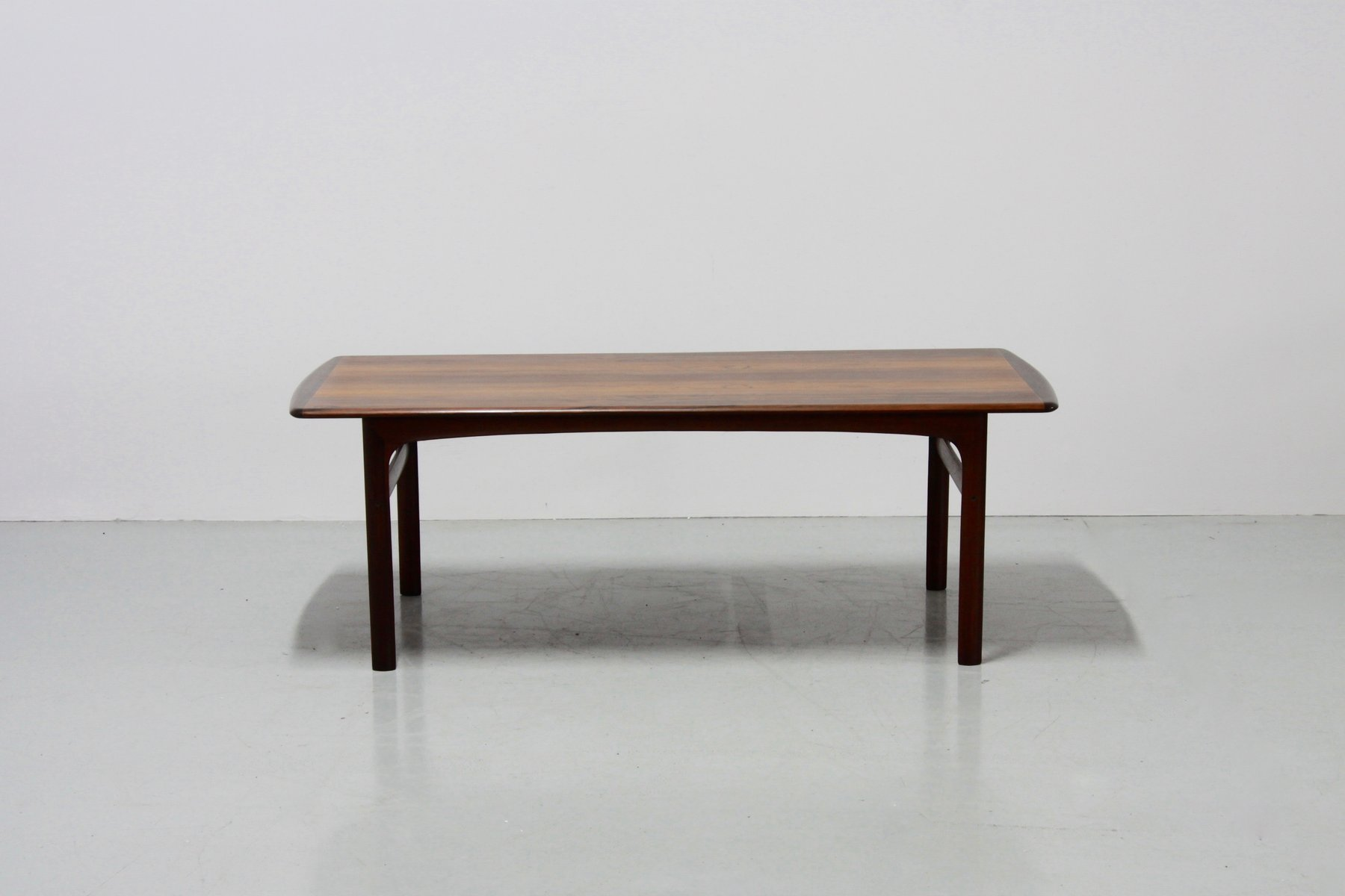 Vintage Coffee Table In Teak For Sale At Pamono