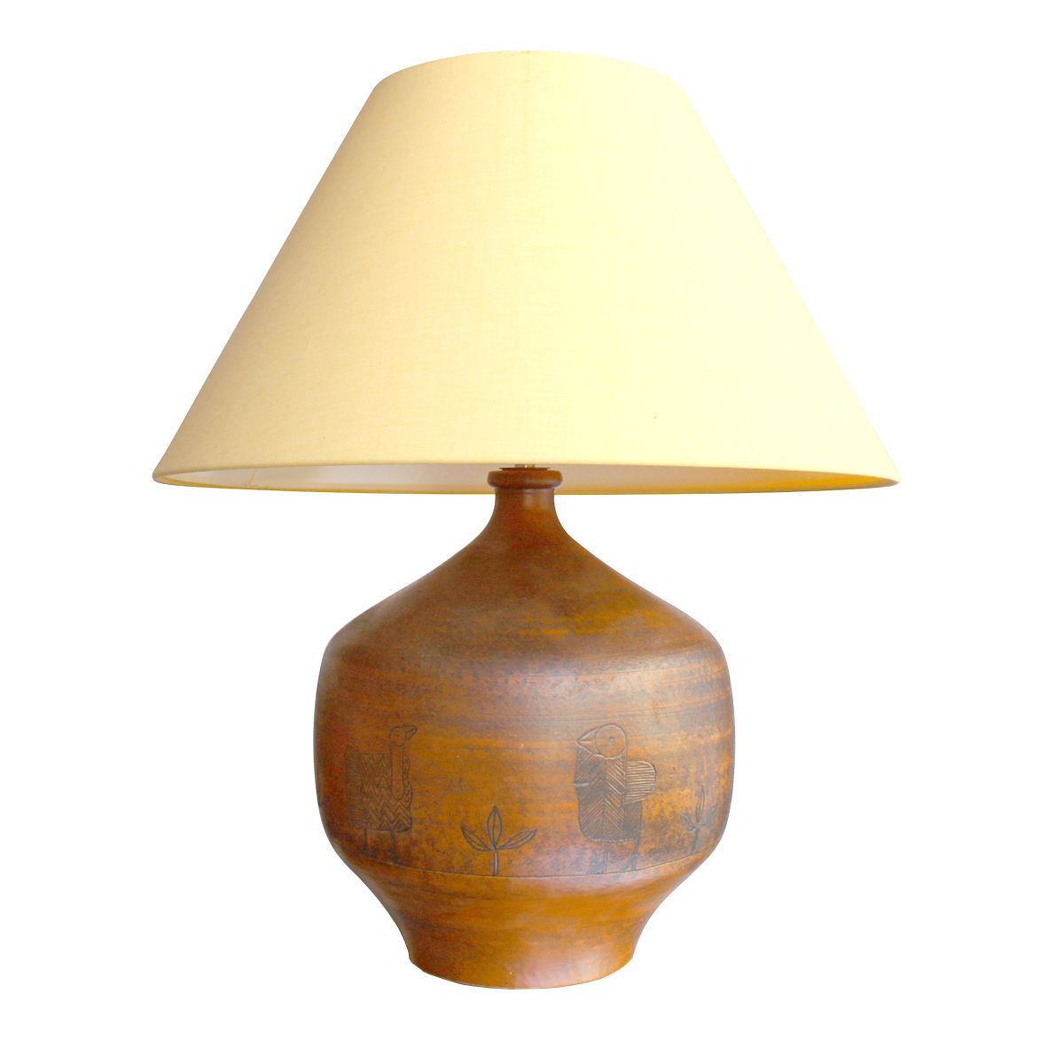 Mid century table lamp by jacques blin for sale at pamono for Z gallerie century table lamp