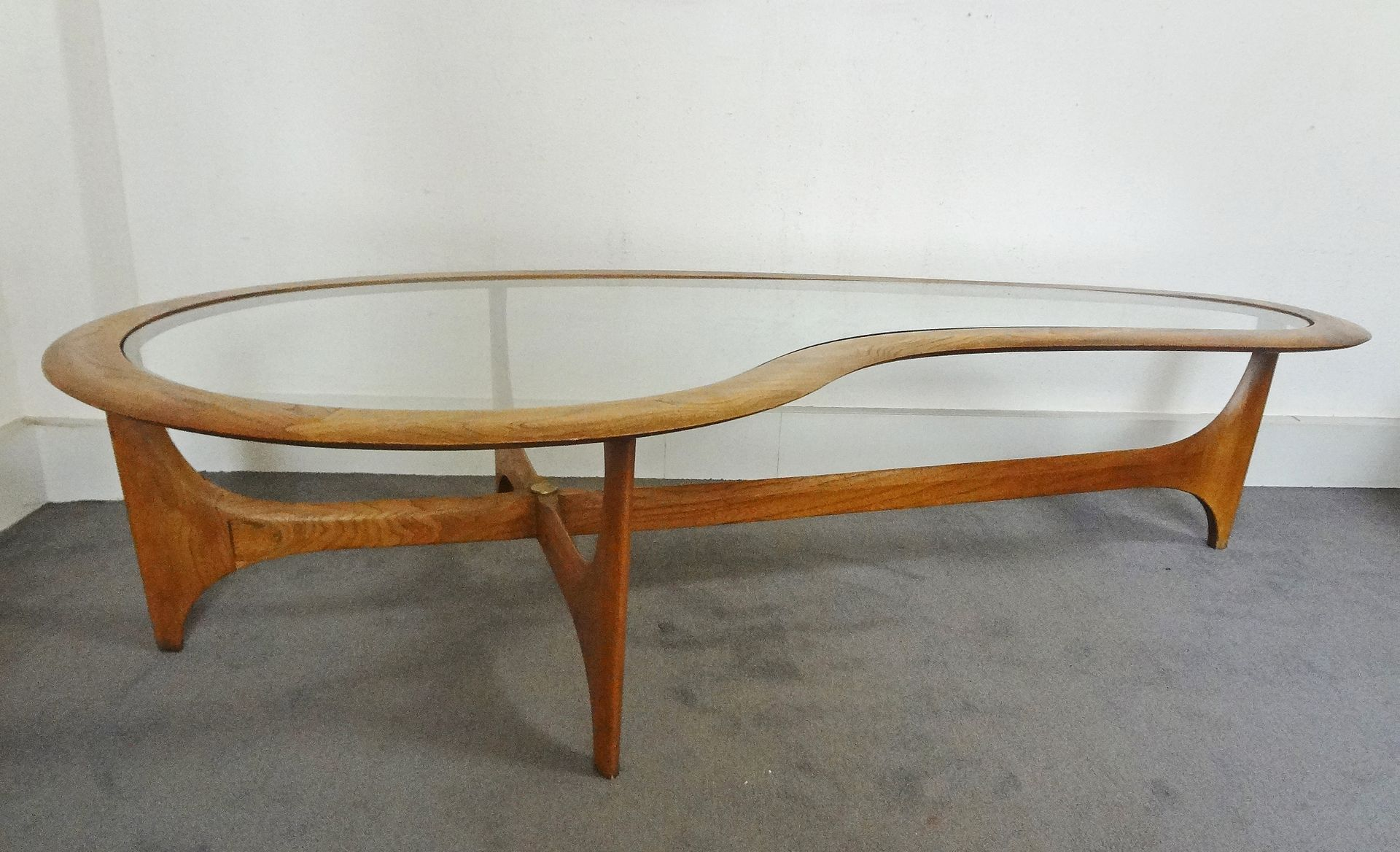 Large coffee table by adrian pearsall for lane 1960s for sale at large coffee table by adrian pearsall for lane 1960s geotapseo Choice Image