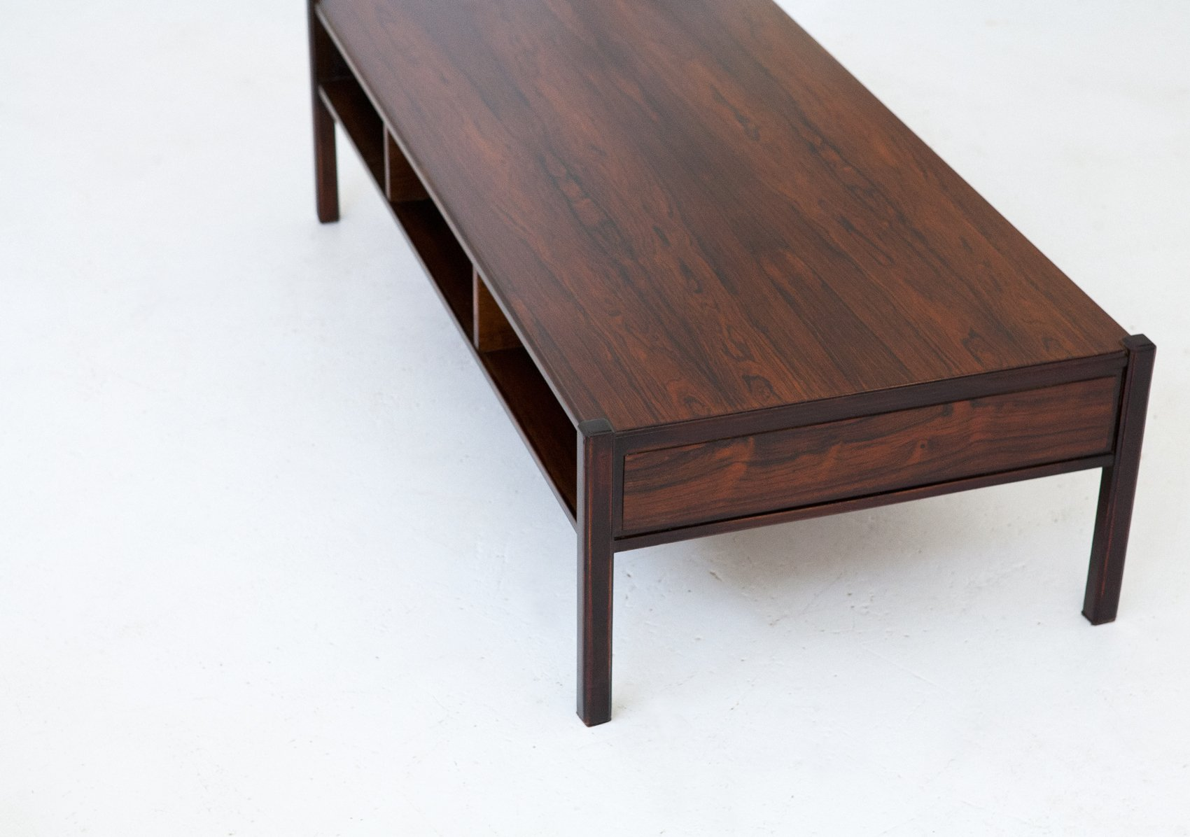 Italian Rosewood Coffee Table 1960s For Sale At Pamono