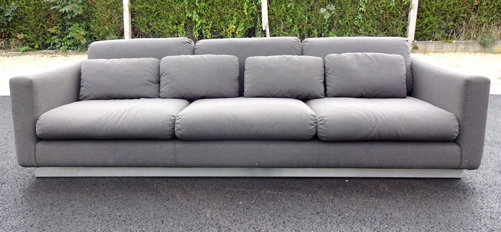 Grey sofa 1970s for sale at pamono for Gray sofas for sale