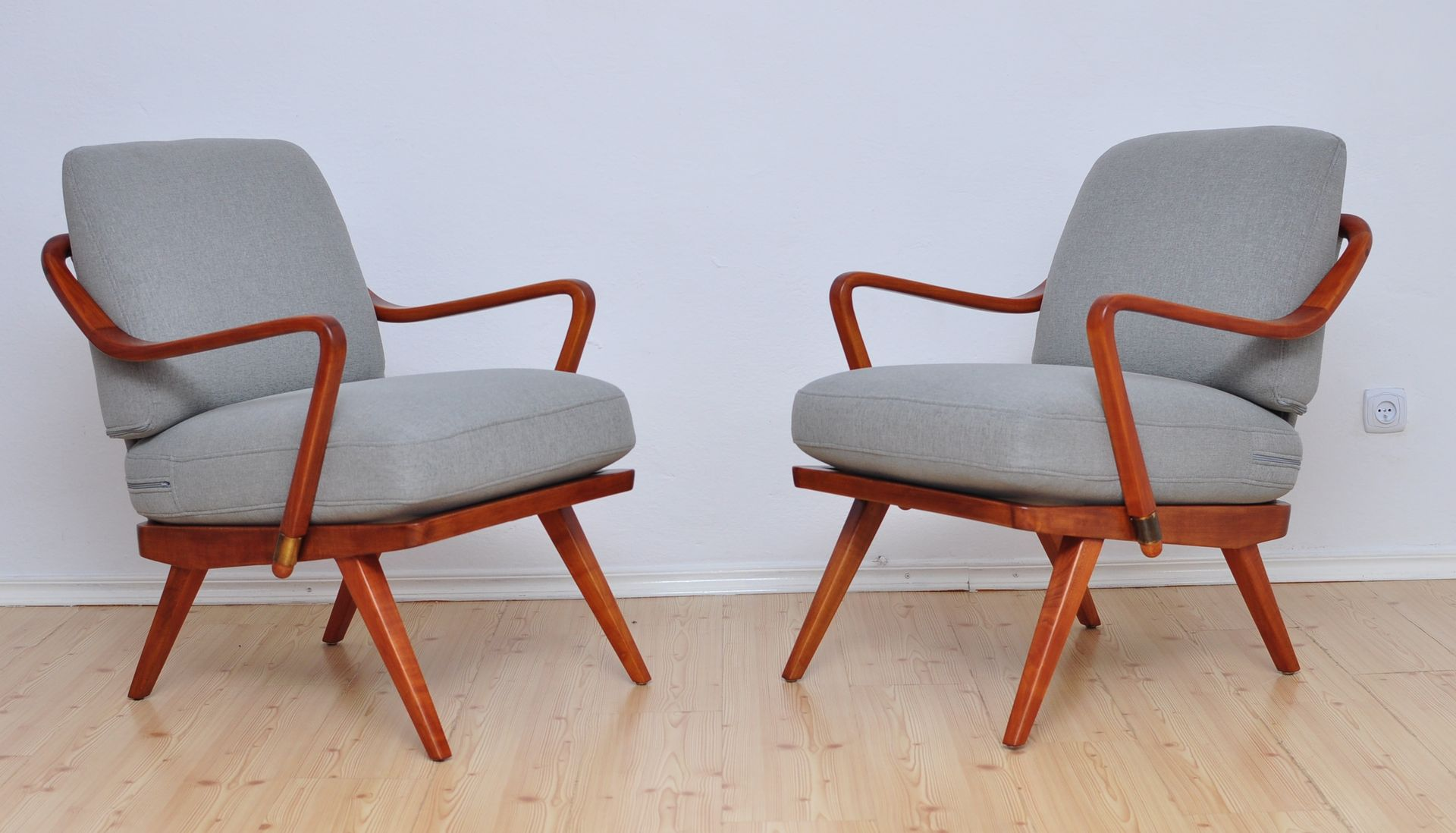 Armchair by Walter Knoll Wilhelm Knoll 1950s Set of 2 for sale