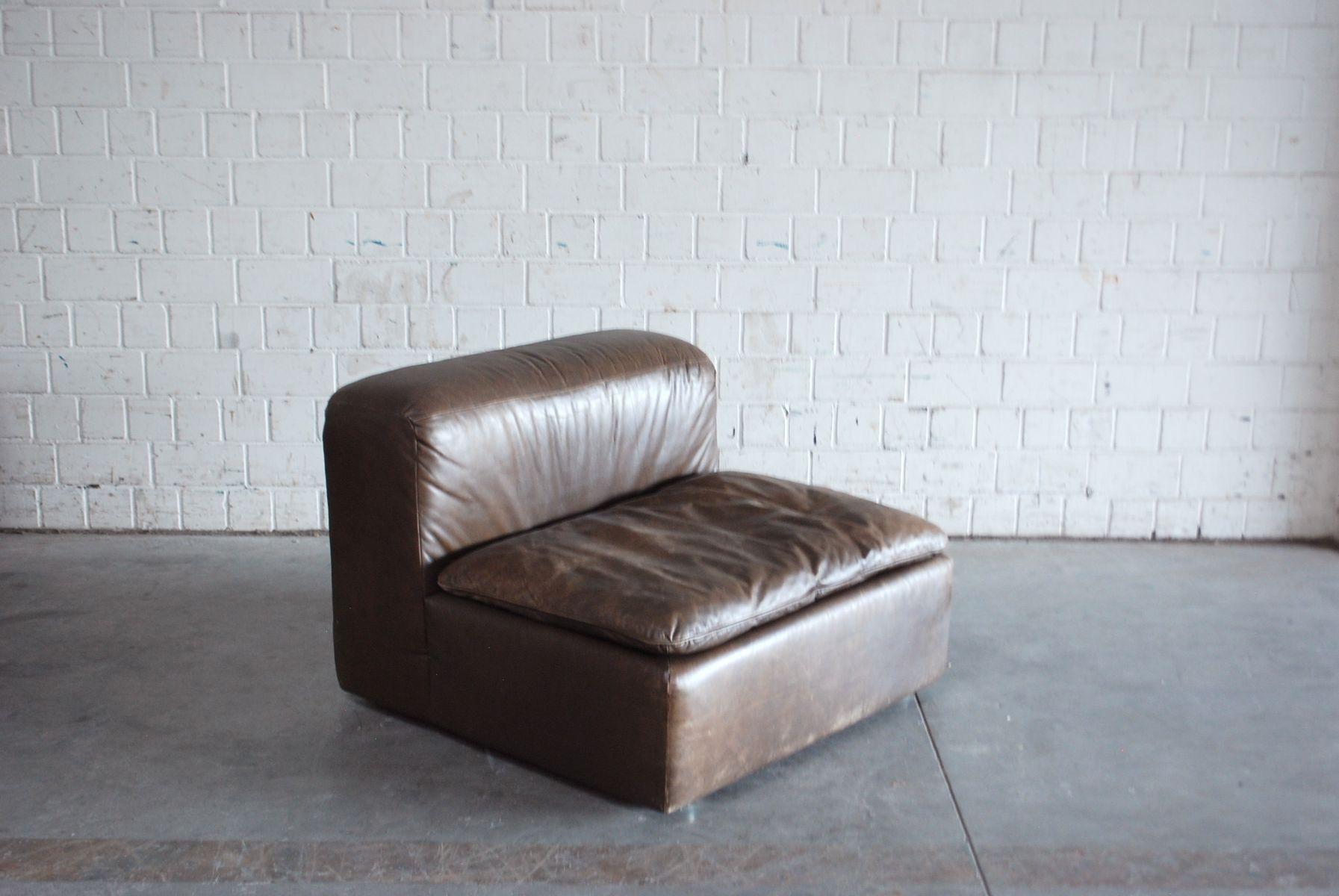 vintage modular wk 550 leather sofa set by ernst martin dettinger for wk m bel set of 4 for. Black Bedroom Furniture Sets. Home Design Ideas