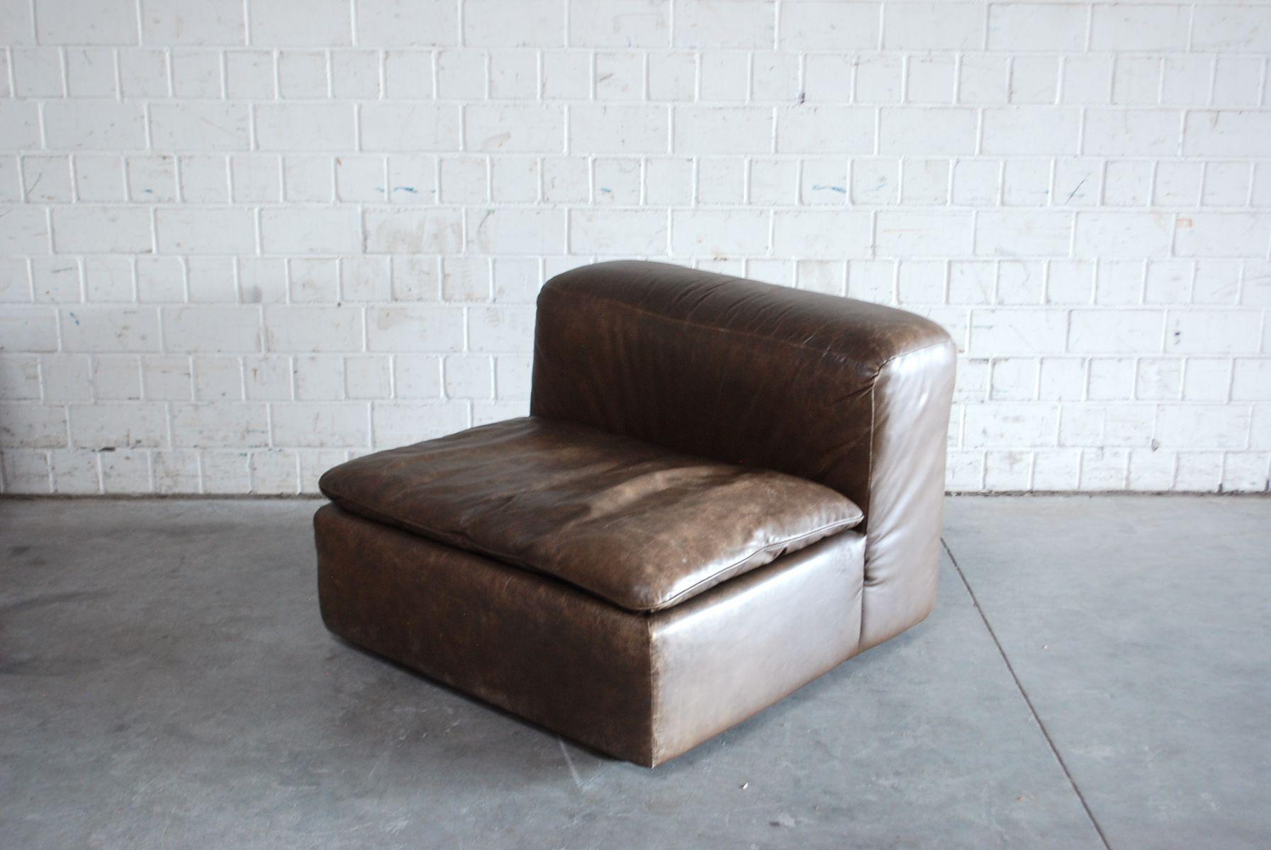 vintage modular wk 550 leather sofa set by ernst martin. Black Bedroom Furniture Sets. Home Design Ideas