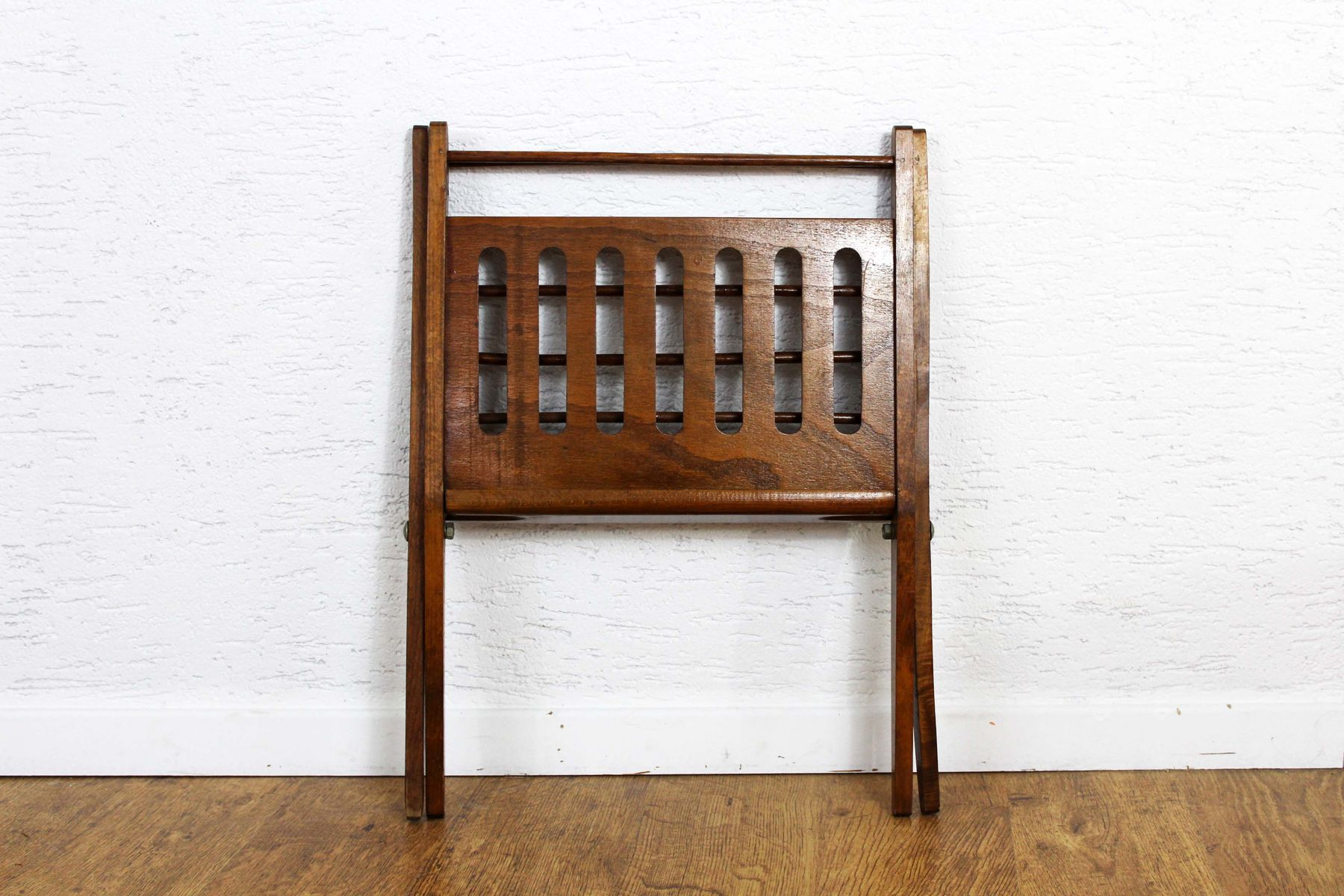 Vintage Magazine Rack by Cees Braakman for Pastoe for sale at Pamono