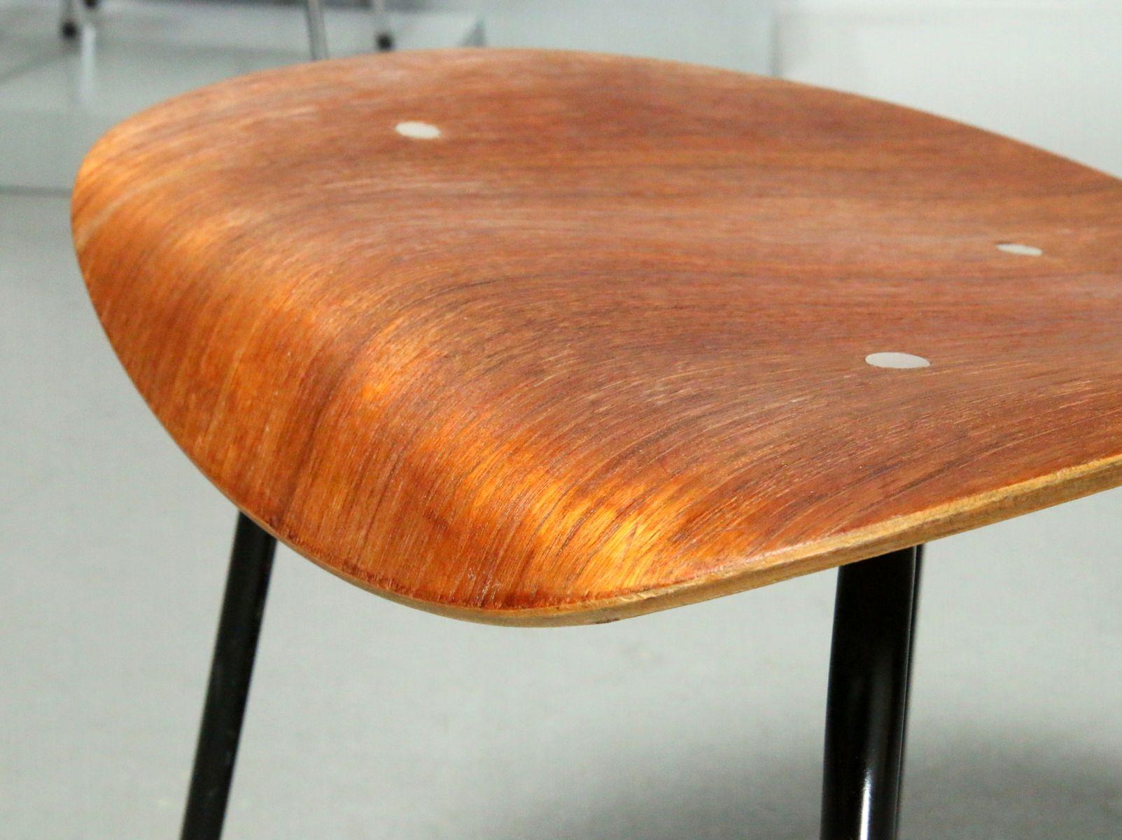 Se 68 Teak Chair By Egon Eiermann For Wilde Spieth 1960s For Sale